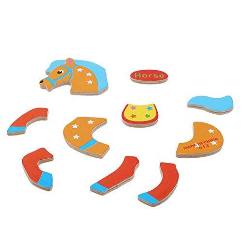 Kaned Rompecabezas de madera para niños de 3 a 4 a 5 años