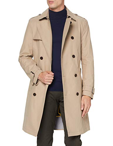 ESPRIT Collection Herren 080EO2G303 Jacke, 270/BEIGE, L