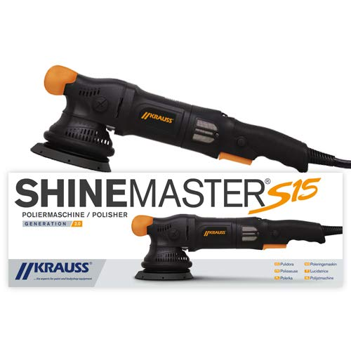 Krauss Shinemaster S15 Exzenter Polierer Poliermaschine V2