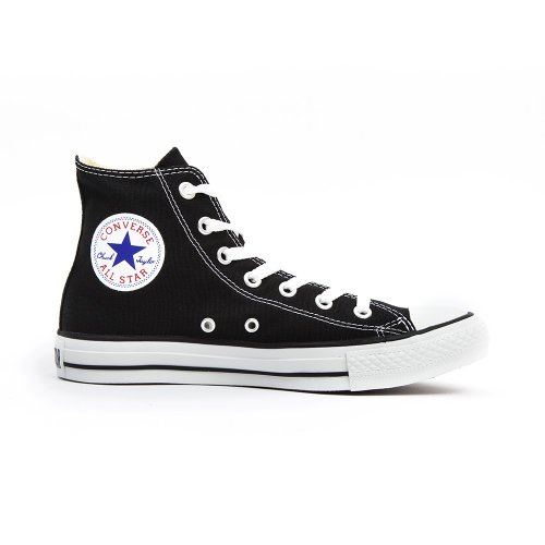 Converse Chuck Taylor Hi, Sneaker Unisex Adulto, Nero, Taglia 45 EU