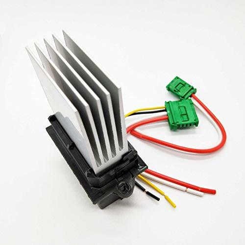 FangFang Módulo Calentador de Control del Ventilador Resistor Plug 27150-ED70A Fit for Renault Megane Sport Tourer escénica MK 2 Citroen C2 C3 C5 1,4 1,6 2,0 16V