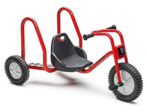 Winther Viking Explorer BobKart - Dreirad für Kinder im Alter 4-10 Jahre