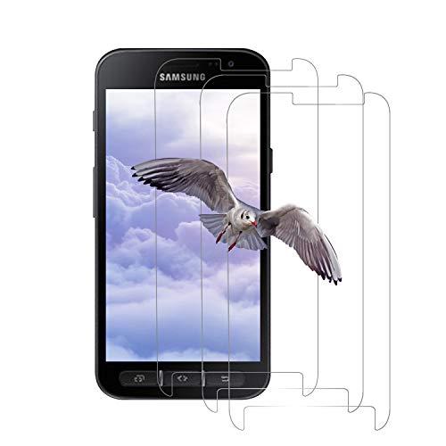 [3 Stück] Panzerglas Schutzfolie für Samsung Galaxy Xcover 4s/4, [2.5D Arc Edge] 99.99{8762483f91b8073b5b94c4cc1195749ef83faa82a64edd7a333eadfe0f2f6da1} Transparenz, Kratzfeste Folie, 3D-Touch, Gehärtetem Glas Panzerglasfolie für Samsung Xcover 4s/4 - Transparnt