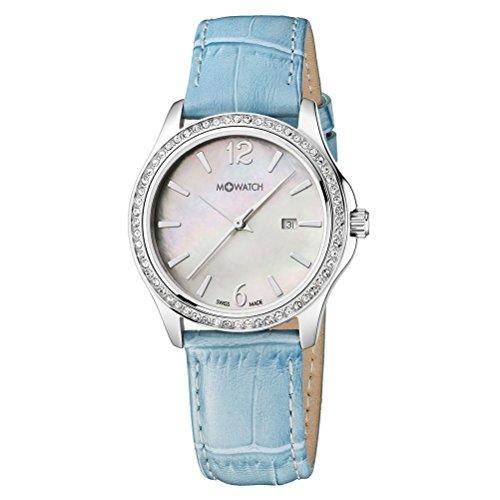 M-WATCH Damen-Armbanduhr Stones Analog Quarz WRS.13210.LD