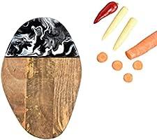 Black Chopping Board | Mango Wood Cheese Board | Gift Ideas for Men