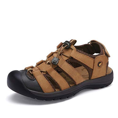 Sommer Sandalen Herren Sneakers Herren Hausschuhe Flip Flops Freizeitschuhe Strand Outdoor Atmungsaktive Alias Mode Herren Schuhe-7 UK