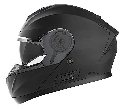 casco scooter integrale omologato Casco Modulare Moto Integrale Scooter - YEMA YM-926 Caschi Modulari Motorino Integrali ECE Omologato Donna Uomo con Doppia Visiera Parasole