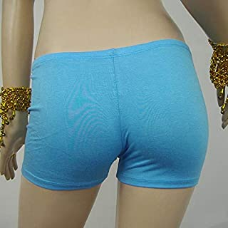 Women Gym Fitness Yoga Shorts Waistband ny Stretch Sports Belly Dance Shorts:as The Picture Show, One Size