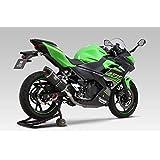 ヨシムラ スリップオン Ninja400/250(18) R-77S サイクロン 政府認証 EXPORT SPEC メタルマジック カーボンエンド 110-235-5W20