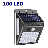 ソーラーライト 56 LEDソーラーランプ屋外の防水IP65 PIRモーションセンサーソーラーガーデンライトウォールランプ赤外線センサーライト AiHua Huang (Color : 4, Size : One Size)