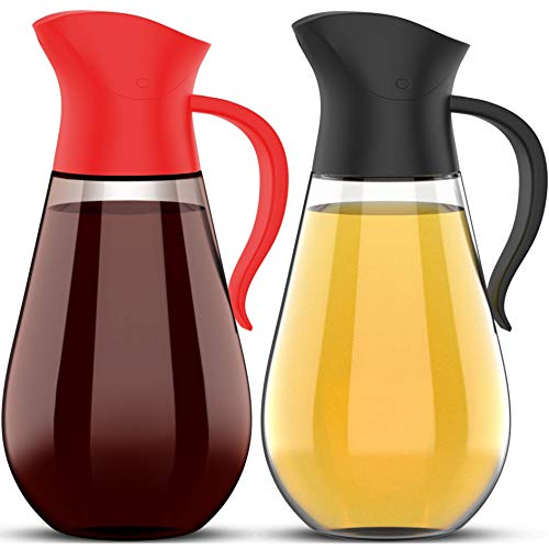 Our #7 Pick is the Brieftons Oil & Vinegar Syrup Dispenser