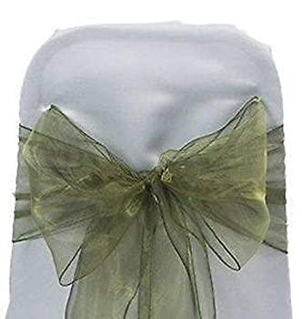 Best olive green chair sashes Reviews