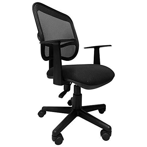 I SEATING Silla oficina ejecutiva con soporte en respaldo para escritorio para computadora negra silla gamer modelo Nemaster