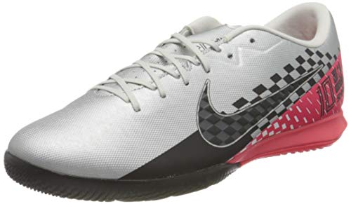 Nike Vapor 13 Academy NJR IC, Zapatillas de fútbol Sala Unisex Adulto, Multicolor (Chrome/Black-Red Orbit-Platinum Tint 6), 44 EU