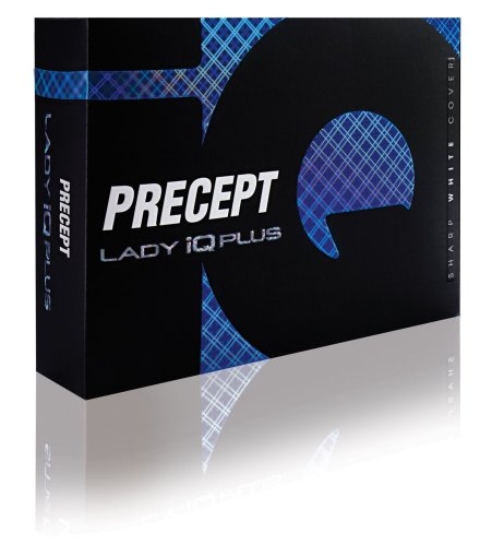 Precept Damen Golfball Lady IQ Plus, White, 1iqw+