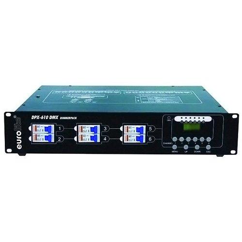 Eurolite 70064120 DPX-610 DMX Dimmerpack