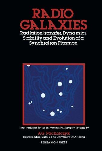 Radio Galaxies: Radiation Transfer, Dynamics, Stability and Evolution of a Synchrotron Plasmon