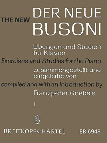 Der Neue Busoni - Übungen und Studien für Klavier Heft 1: Übungen (EB 6948)