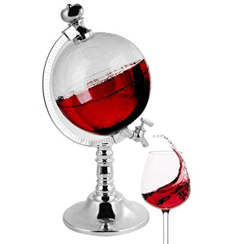 MFLASMF Decantador en forma, dispensador de licor de 1,5 l para bourbon, whisky, whisky o ron, regalo de decoración de bar para el hogar