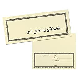 Buy these simple gift certificates through www.amazon.com