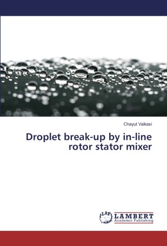 Droplet break-up by in-line rotor stator mixer