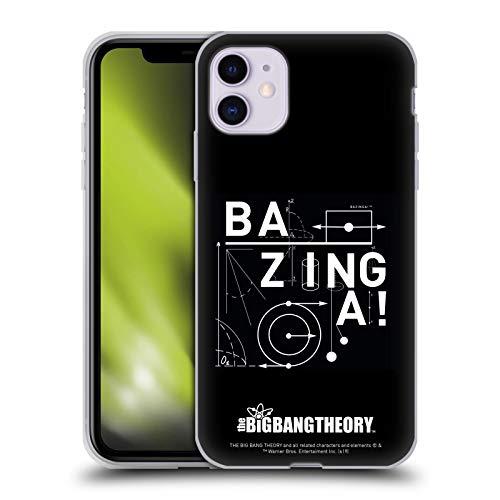 Head Case Designs Licenza Ufficiale The Big Bang Theory Fisica Bazinga Cover in Morbido Gel Compatibile con Apple iPhone 11