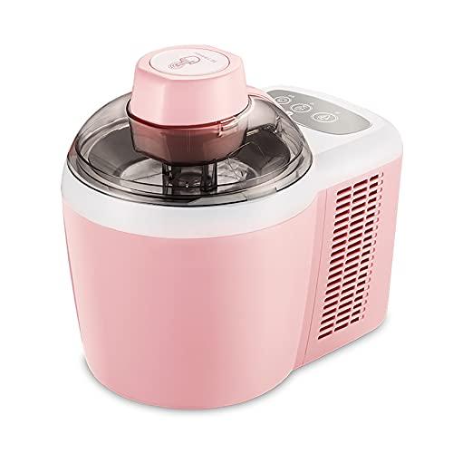 Máquinas de helado, Maquina De Helado, Ice Cream Maker Con Capacidad De 600 Ml No Es Necesario Enfriar Previamente, Las Máquinas De Helado 90 Minutos Hacen Un Postre Saludable Opcional Suave Y Duro