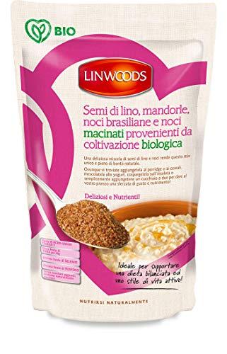 Linwoods Semi di Lino, Mandorle, Noci Brasiliane e Noci Macinati - 200 g