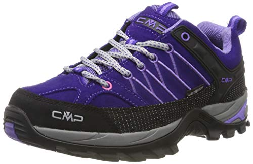CMP Damen Rigel Low Wmn Shoes Wp Trekking- & Wanderhalbschuhe, Violett (Lapis-Iris 04hd), 38 EU