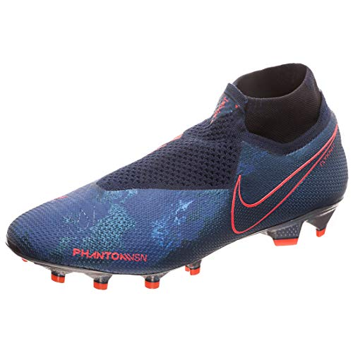 Nike Phantom VSN Elite DF FG Herren Football Boots AO3262 Soccer Cleats (UK 9.5 US 10.5 EU 44.5, Obsidian Black 440)