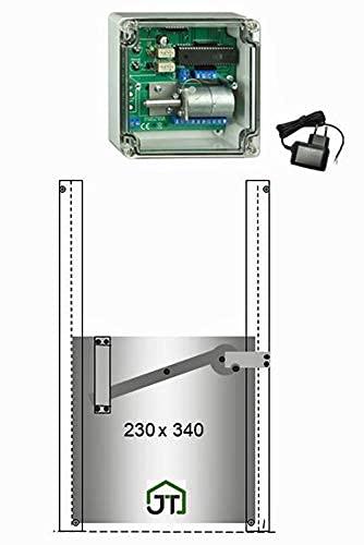 Automatische Hühnerklappe + Steckernetzteil + Klappe mit Selbstverriegelung – Direkt vom Hersteller - 2