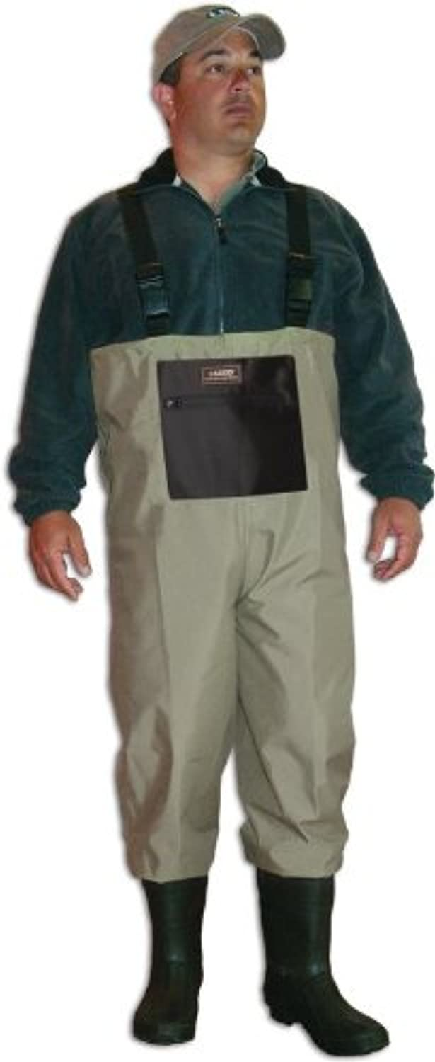 Caddis Men's Taupe Breathable Boot Foot Wader