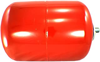 Duda Energy ExpTank-008V-S 8 L/2.1 gallon Red Expansion Tank for Solar Water Heater Systems Thermal Pressure Protection