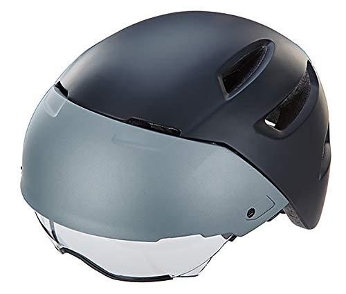 Prophete Unisex– Erwachsene S-Pedelec Helm Größe: 52-56 cm, matt schwarz/grau, TÜV/GS geprüft Fahrradhelm