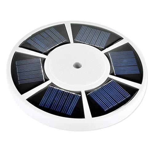 H HILABEE Solar 26 LED Flag Pole Top Bright Light Attivo Automatico per La Maggior Parte dei Pali della Bandiera