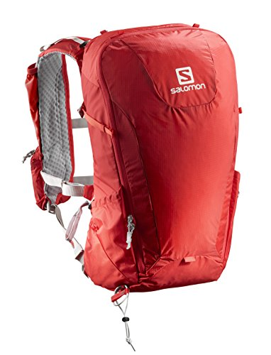 Salomon Leichter Ski-Rucksack, Peak 20, rot/dunkelgrau (red/dark grey), 20 L, L40119000