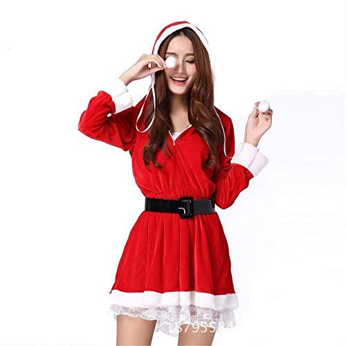 BH-Hemden für Damen Sexy Dessous Großhandel Dessous Weihnachten Uniform rote Weihnachtskatze Weihnachten $ x2Red One Size