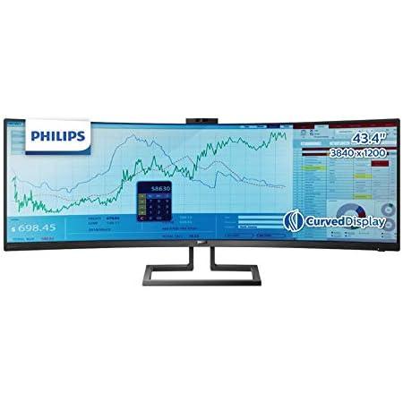 PHILIPS モニター ディスプレイ 439P9H1/11 (43.4インチ/32:10/曲面//5年保証/「Display HDR 400」認証/3840x1200/HDMI/DisplayPort/USB Type-C)