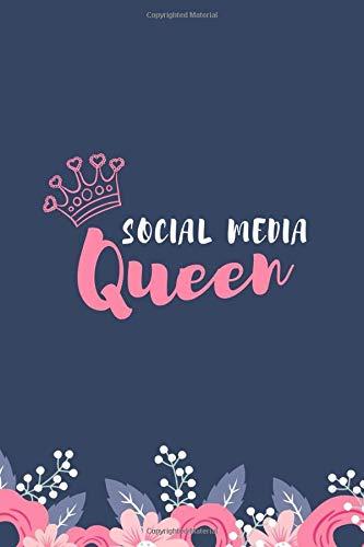 Social Media Queen: Composition Notebook/Journal/Notebook - Gift for social media lovers and social media influencers