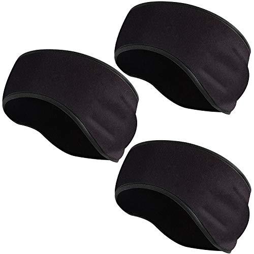 EasYoung 3-Pack Ear Warmer Headbands, Winter Ear Cover for Men Women, Ear Muffs for Sport