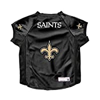 Littlearth NFL New Orleans Saints Pet Stretch Jersey, Small