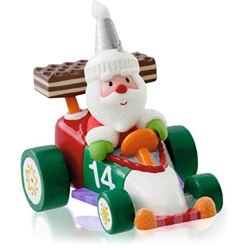1 X Santa'S Sweet Ride 8th In Series - 2014 Hallmark Keepsake Ornament