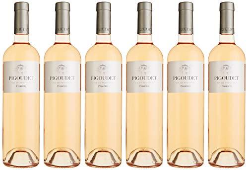 Pigoudet Premiere AOP Coteaux d'Aix en Provence Rosé Halbtrocken (6 x 0.75 l)