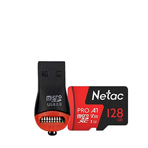 Cartão Memória Micro SD Extreme Pro Netac cMiniLeitor (128GB)