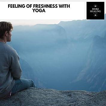 Feeling Of Freshness With Yoga