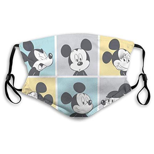 Mickey Mouse Pop Erwachsene Einstellbarer Mundschutz Mundschutz mit Staub Wiederverwendbarer Schutz Mundschutz gegen Verschmutzung, Anti-Smog