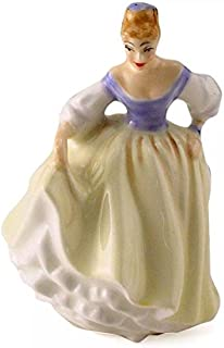 Royal Doulton Figurine Fair Lady HN3216 Miniature - Made and Handpainted UK