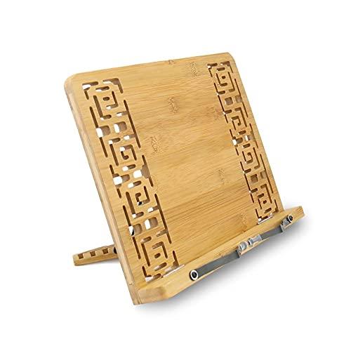 boekenstandaard Leessteun Cookbook Stand Houder Opvouwbare Tablet Cook Boek Stand BookRest Boekhouder Supplies Mobiele…