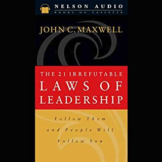 The 21 Irrefutable Laws of Leadership cover art