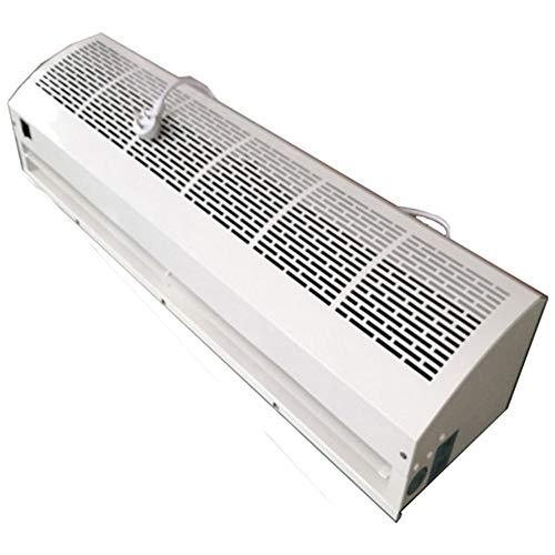 Air Cooler 36-Zoll-Luftschleiermaschine Aluminiumlegierung Luftschleiermaschine kommerzielle Innen leise Luftschleier 2-Gang einstellbare Trennwand Maschine weiß